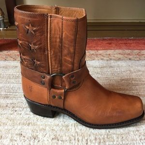 Frye Engineer Americana Short Boot Anniversary 10